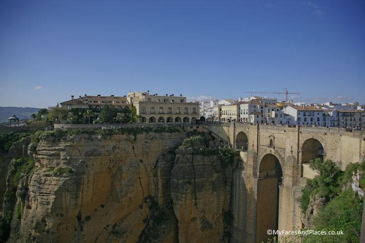 Puente Neuvo The New Bridge of Ronda.