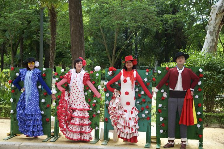 Flamenco flamboyance in Seville.