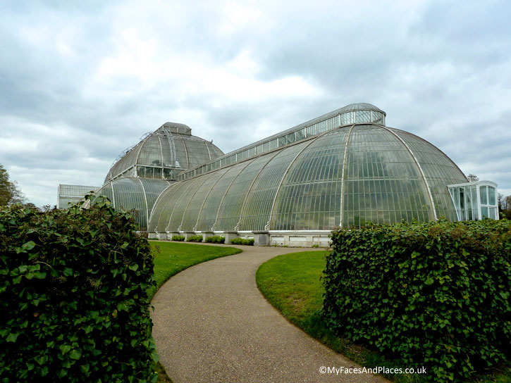 The Palm House at Kew Gardens.